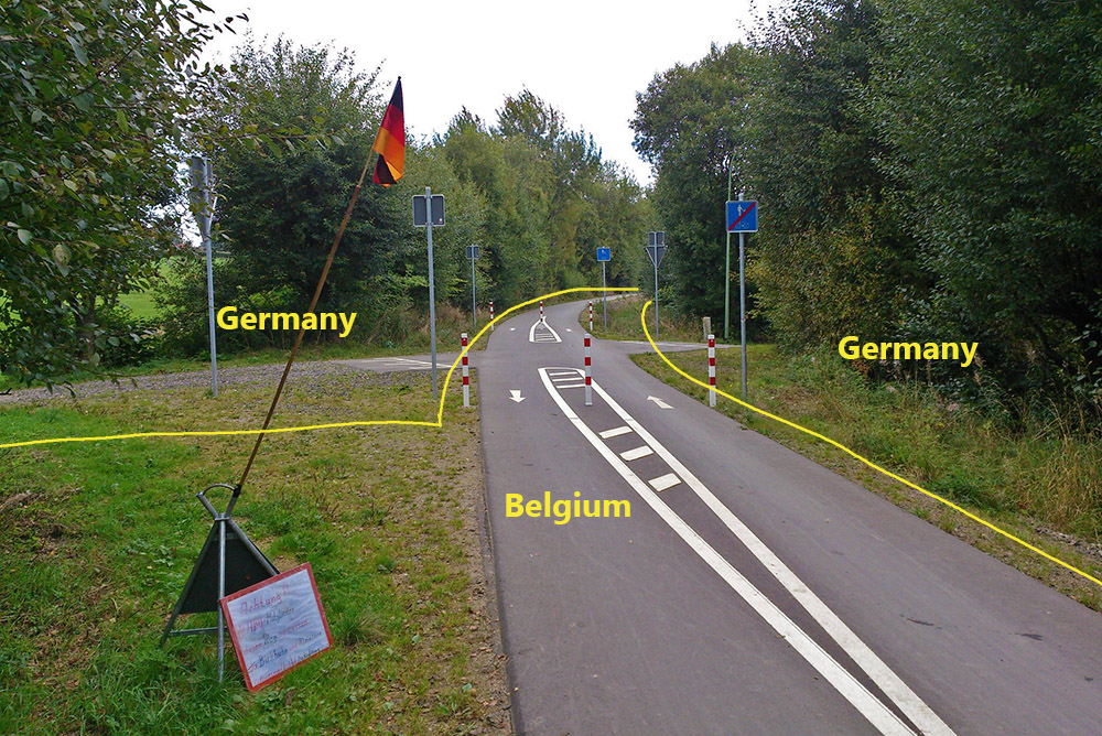 Το περίπλοκο σύνορο του Vennbahn