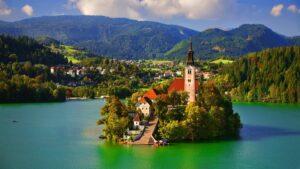 Λίμνη Μπλεντ Σλοβενία