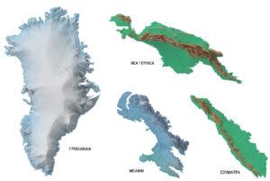 Τα 100 μεγαλύτερα νησιά