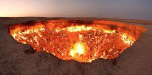 Η πύλη της κολάσεως (Νταρβάζα) στο Τουρκμενιστάν
