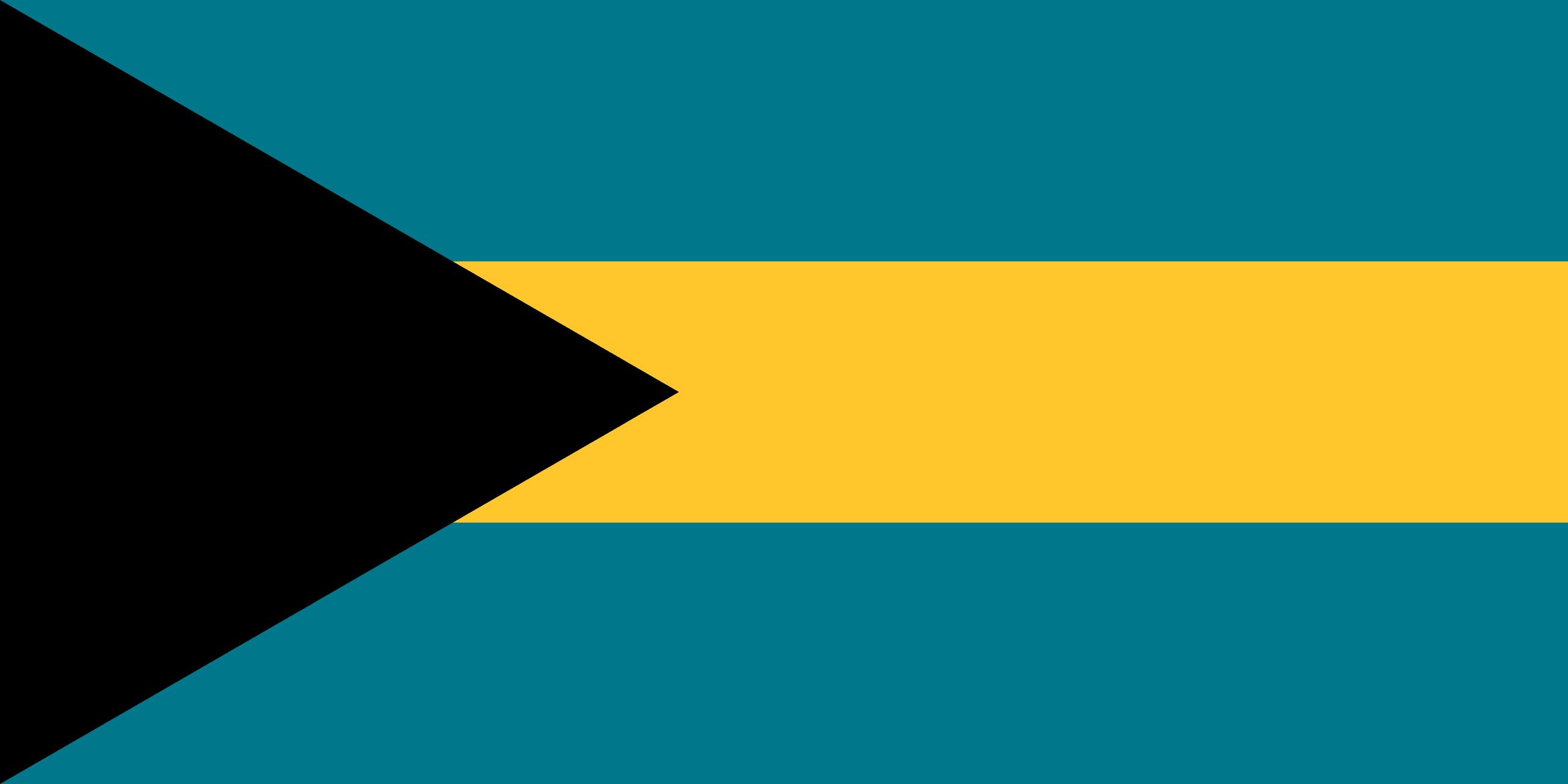 Σημαία Μπαχαμών