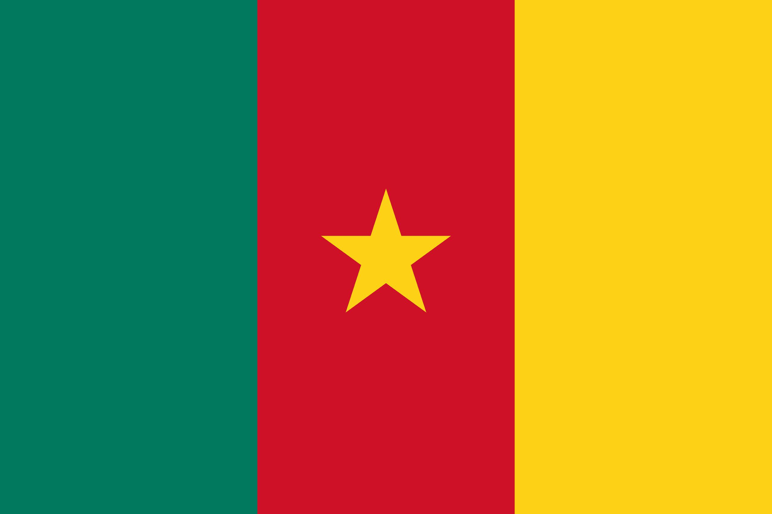 Σημαία Καμερούν