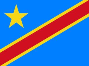 Σημαία Λαϊκής Δημοκρατίας του Κονγκό (Κονγκό-Κινσάσα)