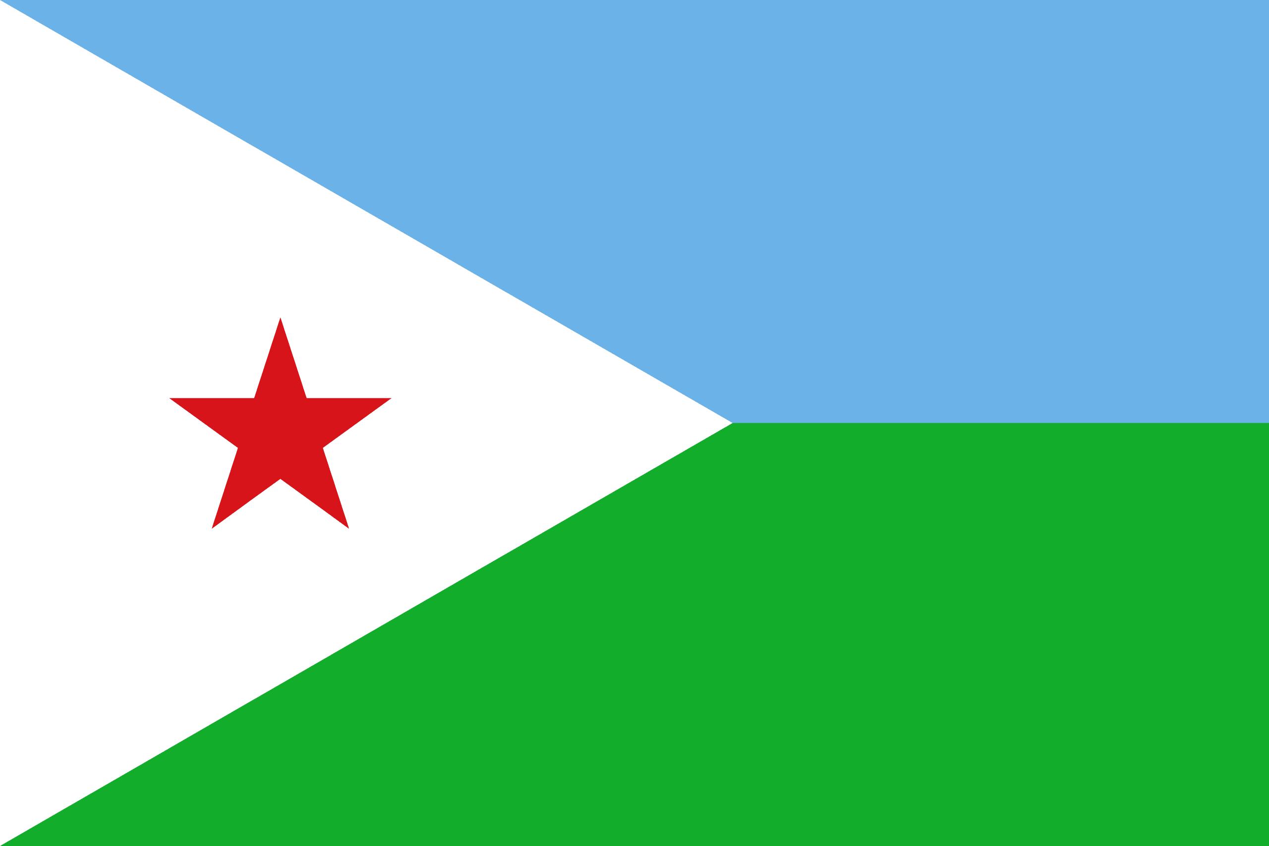 Σημαία Τζιμπουτί