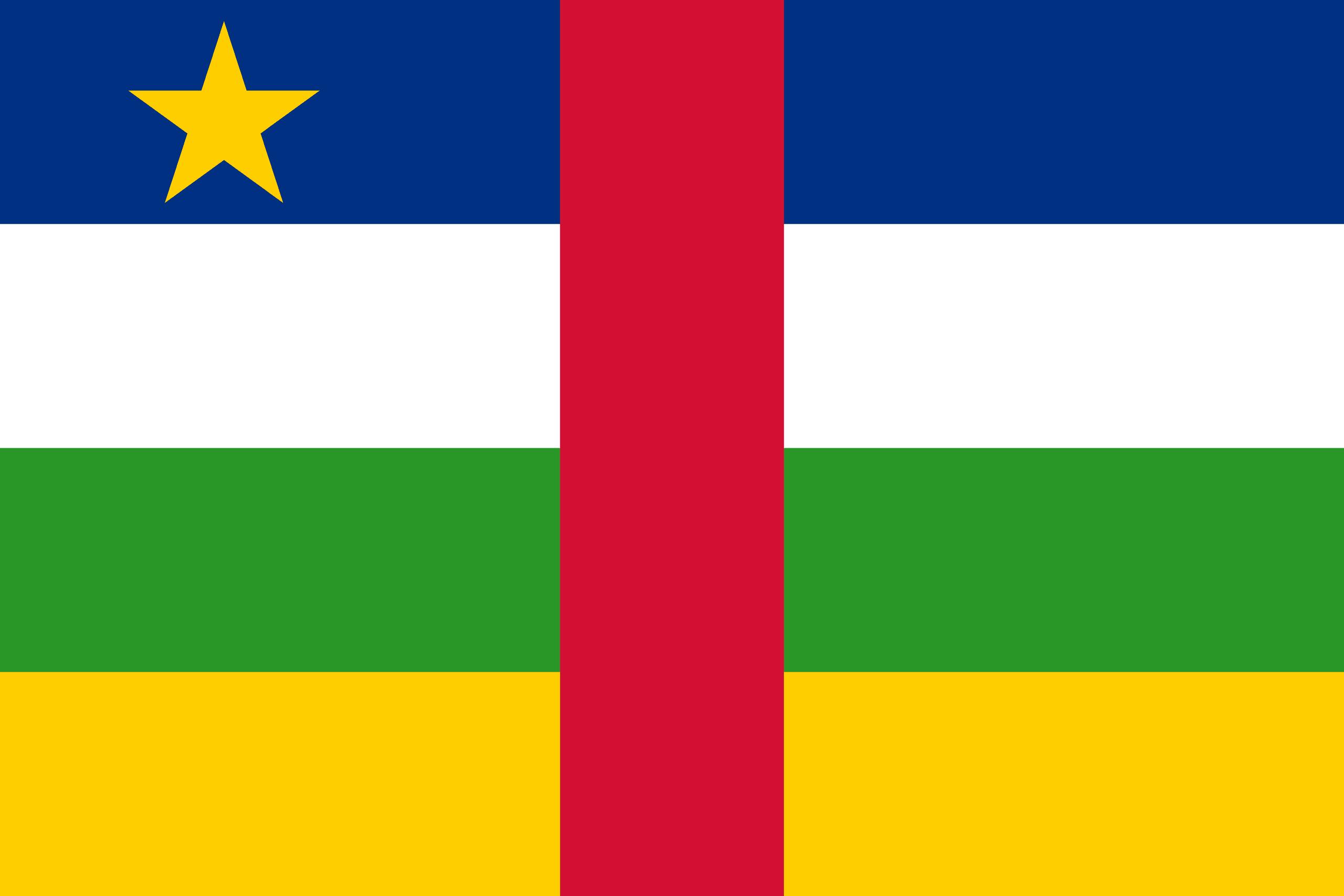 Σημαία Κεντροαφρικανικής Δημοκρατίας