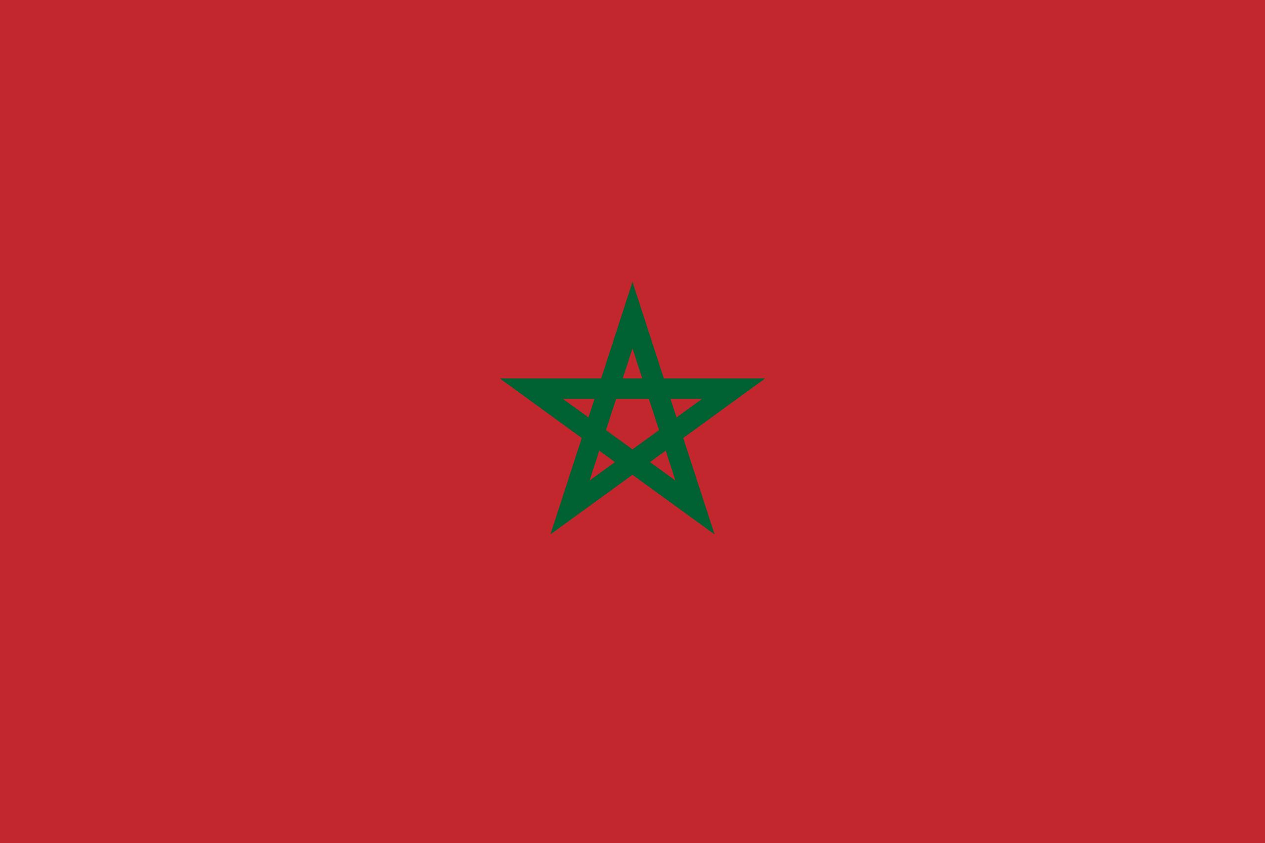 Σημαία Μαρόκου