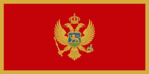 Σημαία Μαυροβούνιου