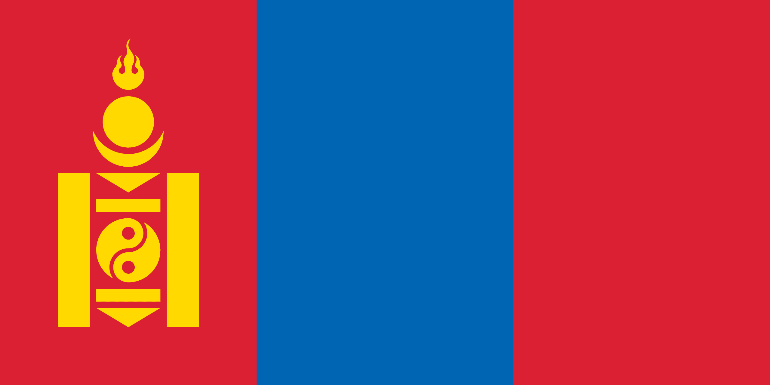 Σημαία Μογγολίας