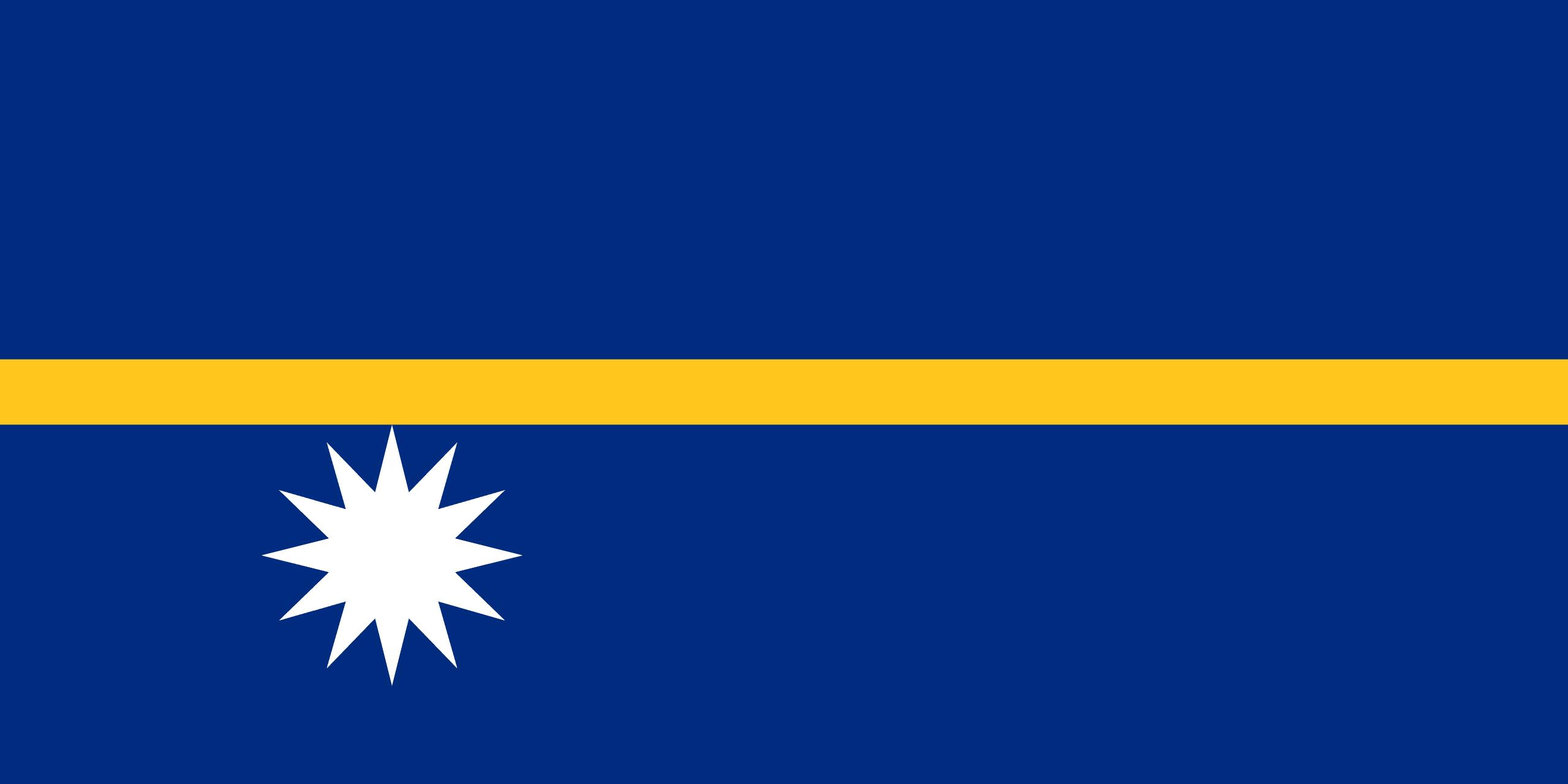 Σημαία Ναουρού
