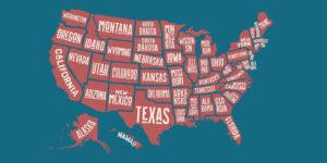 Ονομασίες των πολιτειών της Αμερικής