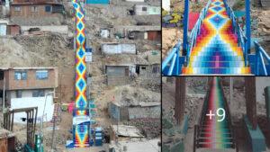 """Τα σκαλοπάτια """"ουράνιο τόξο"""" του Περού (+ΦΩΤΟΓΡΑΦΙΕΣ)"""